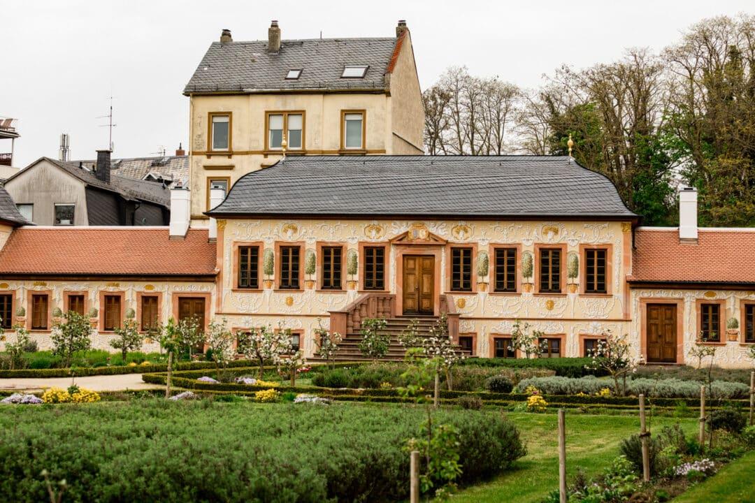 Gebäude im Prinz-Georg-Garten Darmstadt