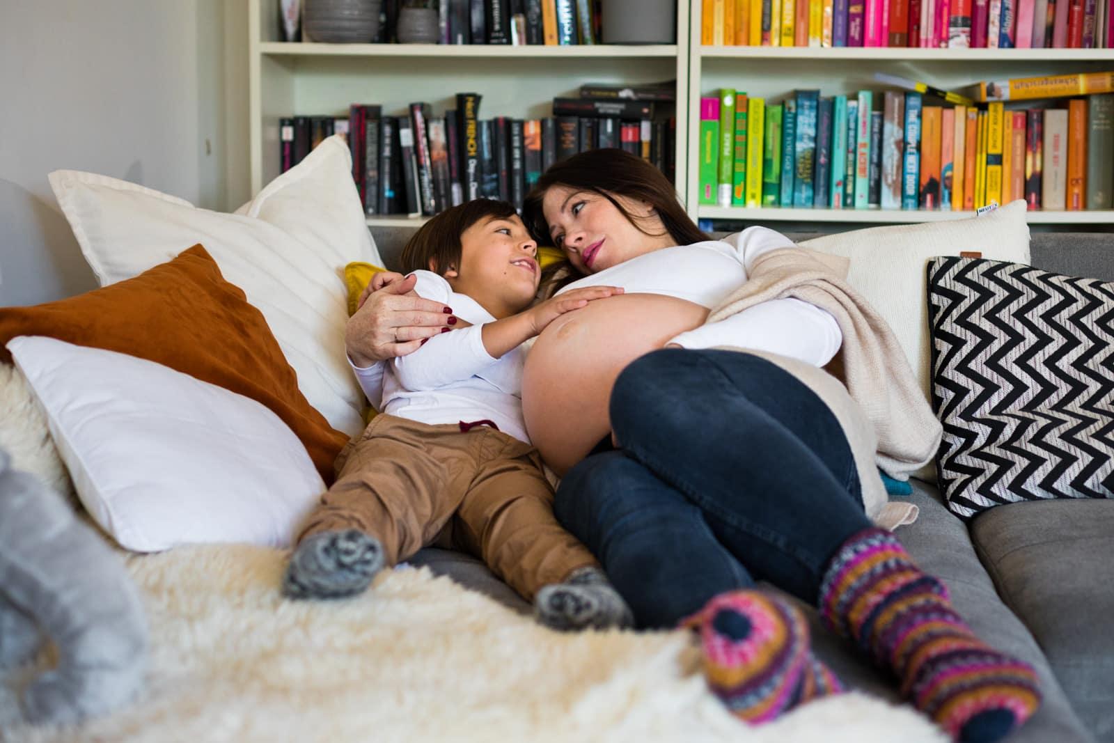 Babybauchshooting Darmstadt Homestory